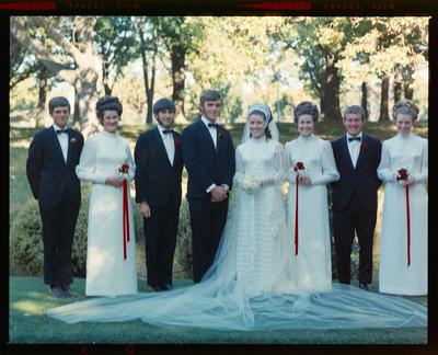 Negative: Geddes-Paton wedding