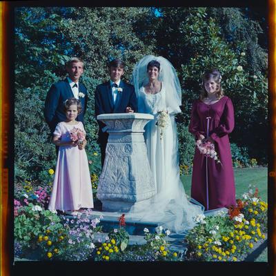 Negative: Johnson-Atkinson wedding