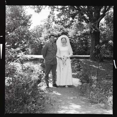 Negative: Wilson-Spence wedding