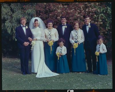 Negative: Borlase-Mather wedding