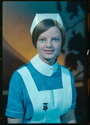 Negative: Miss Calder nurse portrait