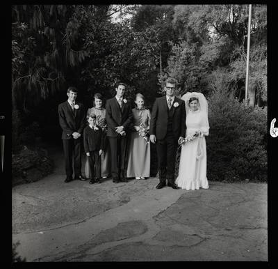 Negative: Beardsley-Arney wedding
