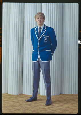 Negative: Mr J Barr school uniform