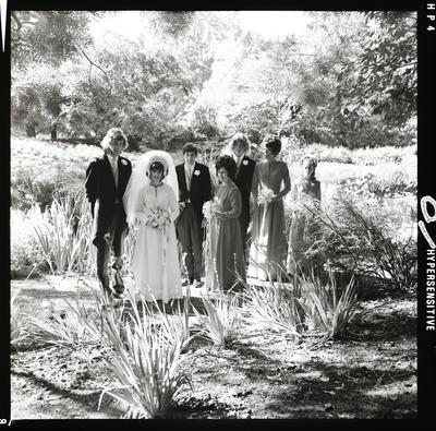Negative: Barker-Haddy wedding