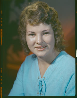 Negative: Miss E Foote headshot