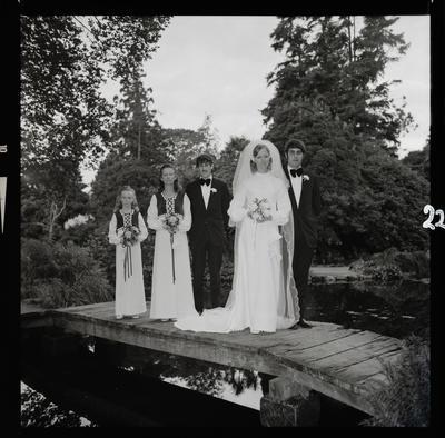 Negative: McPhee-Gray wedding