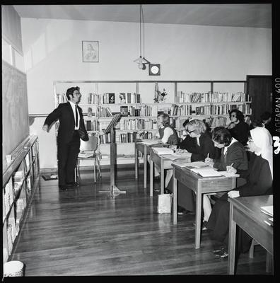 Negative: Loreto College classroom