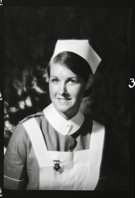 Negative: Miss Maloney nurse portrait