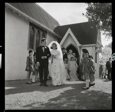 Negative: Pearce-Forster wedding