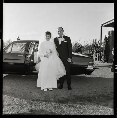 Negative: Yeatman-Prenderville wedding