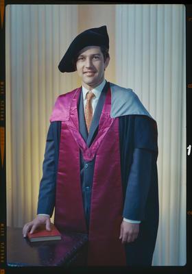 Negative: Mr Wilkinson graduation