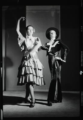 Negative: Spanish dancers