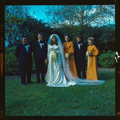 Negative: Cox-Walker wedding