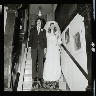 Negative: Black-Adamson wedding