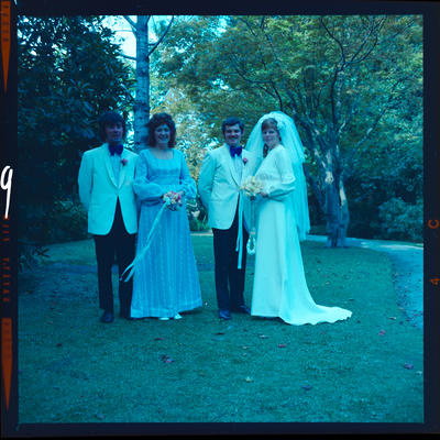 Negative: Blandford-Breen wedding