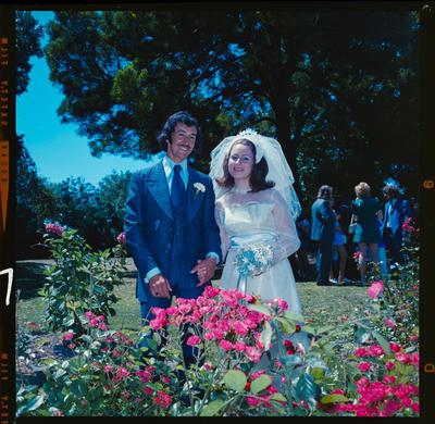 Negative: Clark-Pike wedding