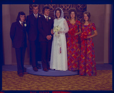 Negative: Chamberlain-Burnard wedding