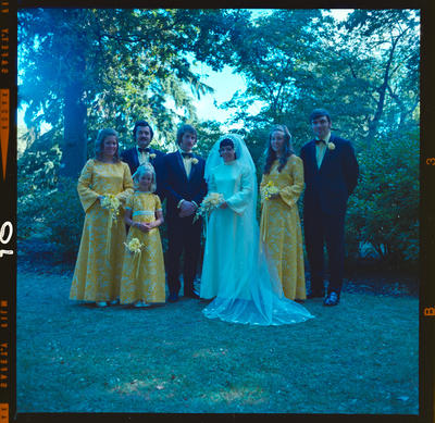 Negative: Crawford-Femmell wedding