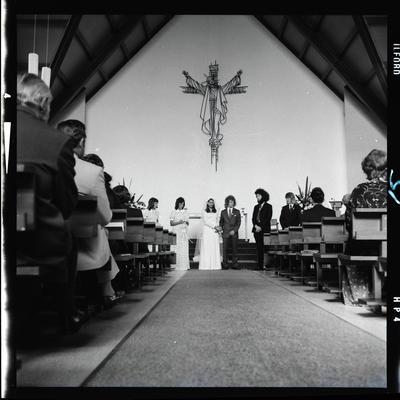 Negative: Glubb-Revell wedding
