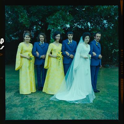 Negative: Graham-Renwick wedding