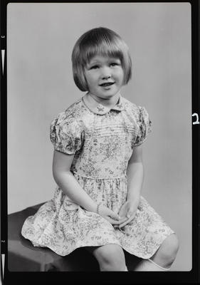 Negative: Miss Ferguson portrait; 11 May 1972; 2019.10.364