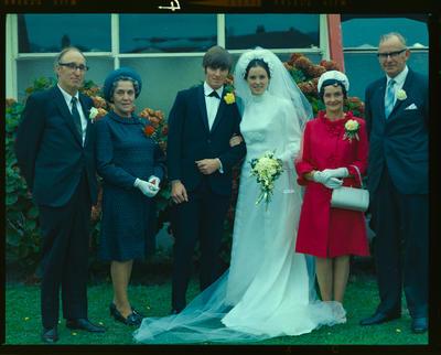 Negative: Eddington-Long wedding; 03 Apr 1971; 2019.10.367