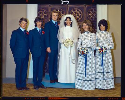 Negative: Elvy-Strachan wedding