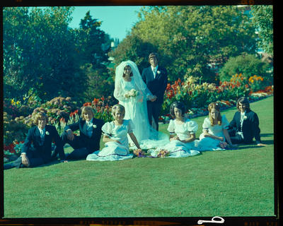 Negative: Keates-Hill wedding