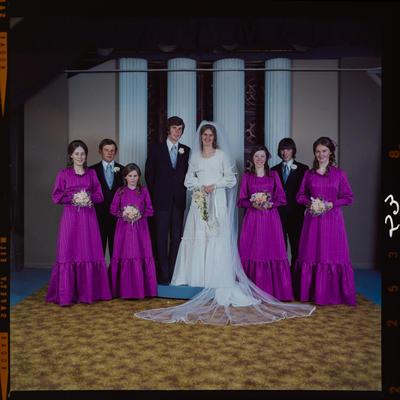 Negative: Newell-Bell wedding