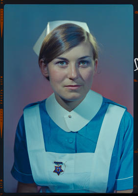 Negative: Miss Mains nurse portrait