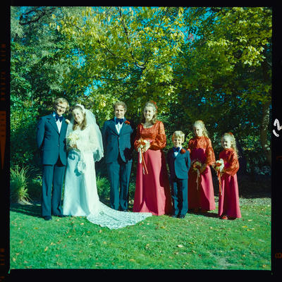 Negative: O'Reilly-Williams wedding