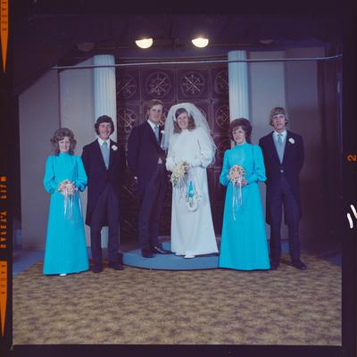 Negative: Thomson-Wilson wedding