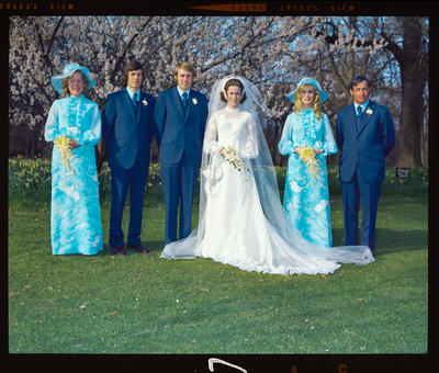 Negative: Sissons-Williams wedding