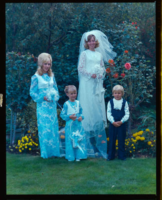Negative: Barclay-Rogers wedding party