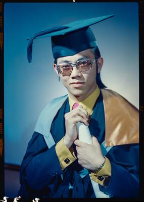 Negative: Mr B. H. Chong graduation