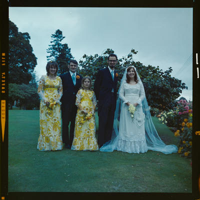 Negative: Day-King wedding