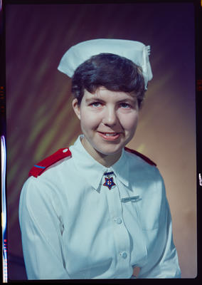 Negative: Miss Dingwall nurse portrait