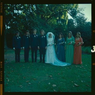 Negative: Dacombe-Chapman wedding