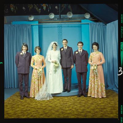 Negative: Eddy-Noonan wedding