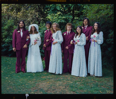 Negative: Grace-Bamford wedding