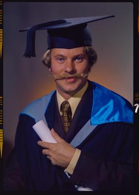 Negative: Mr C. Fisher graduation