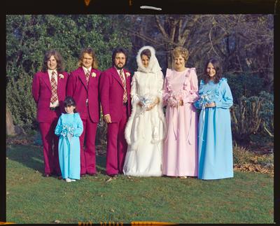 Negative: Harper-Briggs wedding