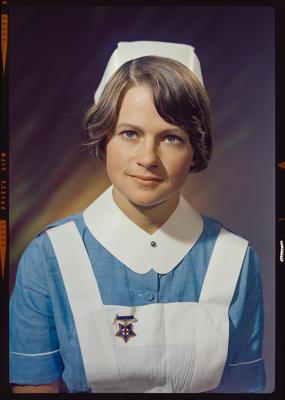 Negative: Miss Jones nurse portrait