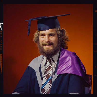Negative: Mr K. Moffat graduation