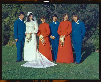 Negative: Marr-Guthrie wedding