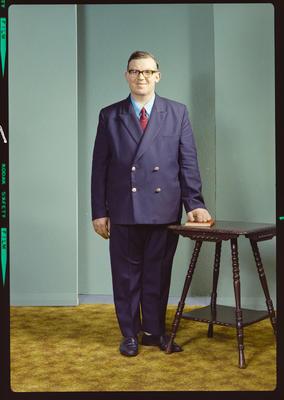 Negative: Mr A. M. Reilly portrait