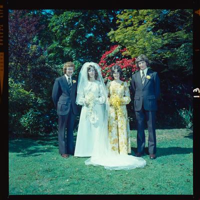 Negative: Thomas-McFarland wedding