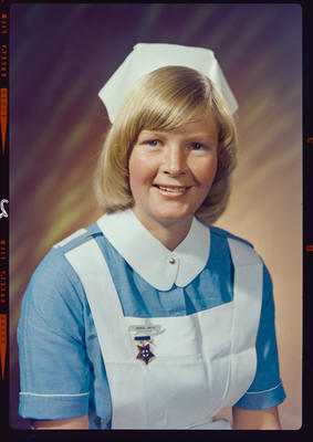 Negative: Mrs C. Smith nurse portrait