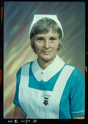 Negative: Miss Smith nurse portrait