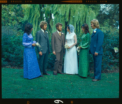 Negative: Tillson-Dean wedding